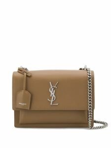 Saint Laurent medium Sunset shoulder bag - Neutrals