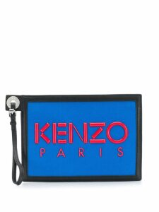 Kenzo Kenzo Paris clutch bag - Black