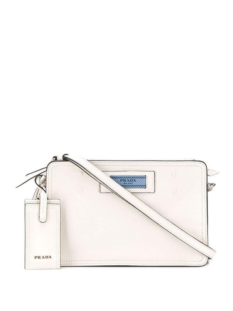 Prada Etiquette shoulder bag - White
