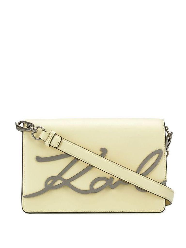 Karl Lagerfeld Karl shoulder bag - Yellow