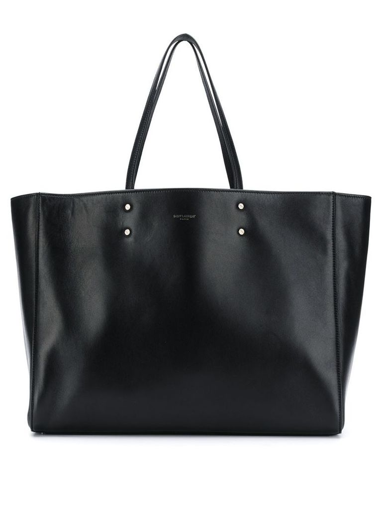 Saint Laurent large shopping bag - Black