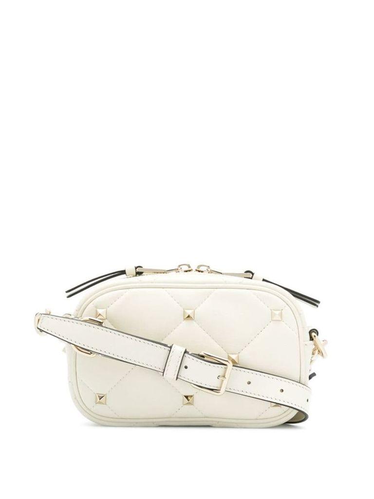 Valentino Valentino Garavani Boomstud crossbody bag - White