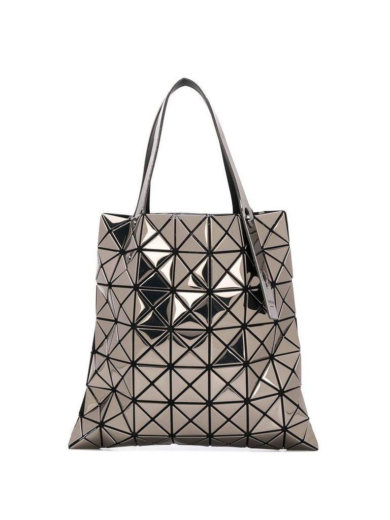 Bao Bao Issey Miyake prisim metallic tote bag