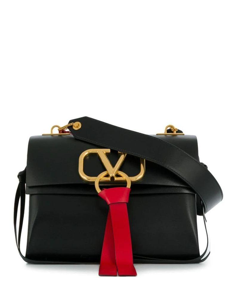 Valentino Valentino Garavani medium V-ring shoulder bag - Black