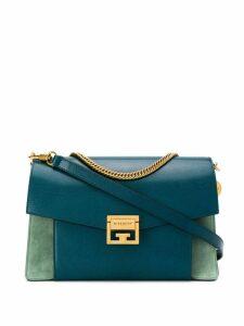 Givenchy panelled shoulder bag - Blue