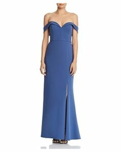 Aidan Mattox Off-the-Shoulder Gown - 100% Exclusive