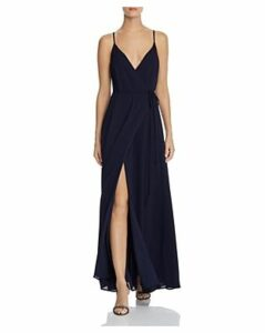 Wayf Arabella Maxi Wrap Dress