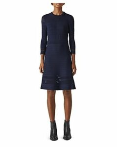 Whistles Pointelle Knit Dress