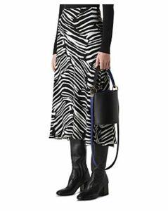 Whistles Zebra-Print Skirt
