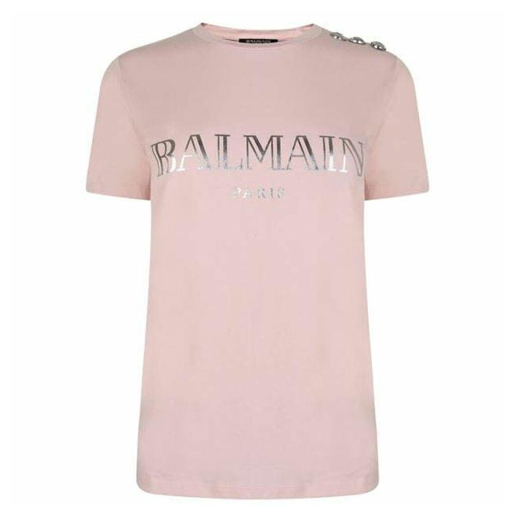 BALMAIN Logo T Shirt