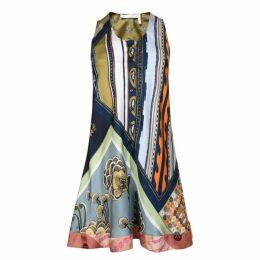CHLOE Silk Patterned Dress