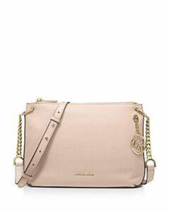 Michael Michael Kors Large Lillie Leather Messenger Bag