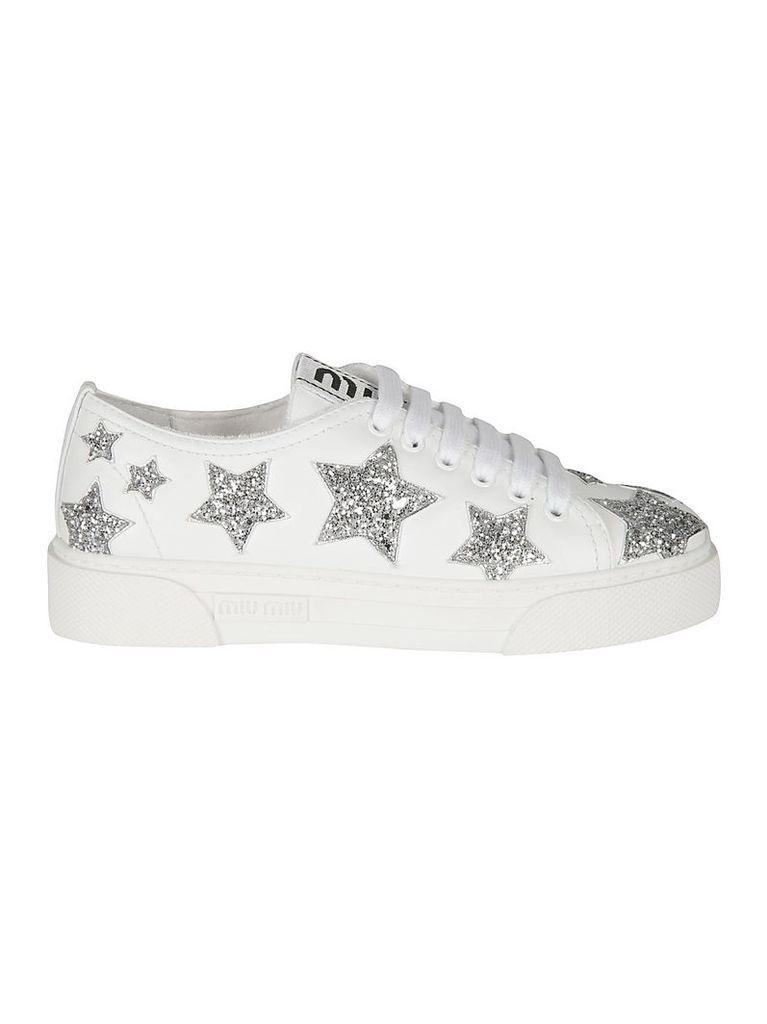 Miu Miu Star Detailed Sneakers
