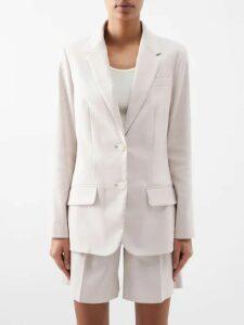Juliet Dunn - Mirror Work Silk Satin Mini Dress - Womens - Dark Pink