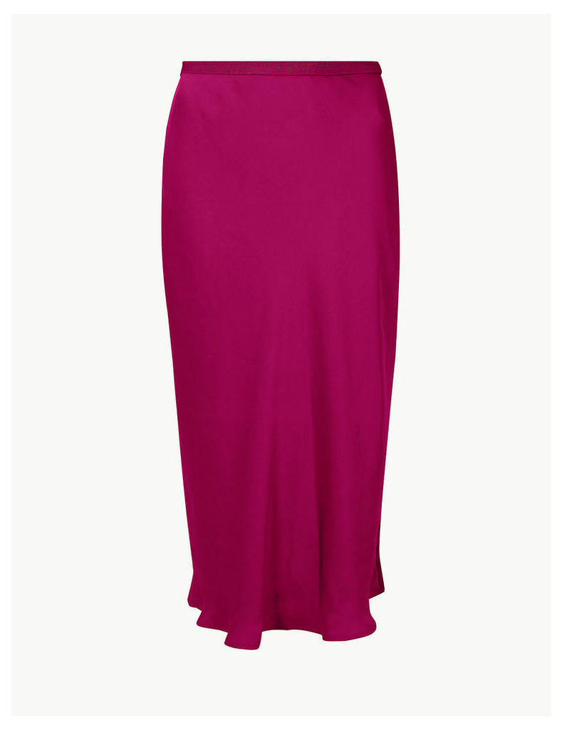 M&S Collection Slip Midi Skirt