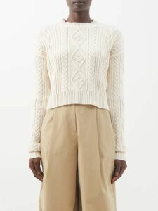 A.p.c. - Margaux Cotton Blend Denim Midi Skirt - Womens - Denim