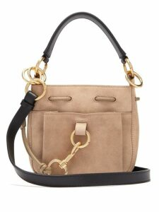 See By Chloé - Tony Medium Suede Bucket Bag - Womens - Grey