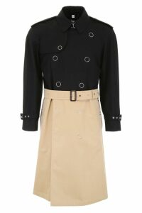 Burberry Bicolor Trench Coat
