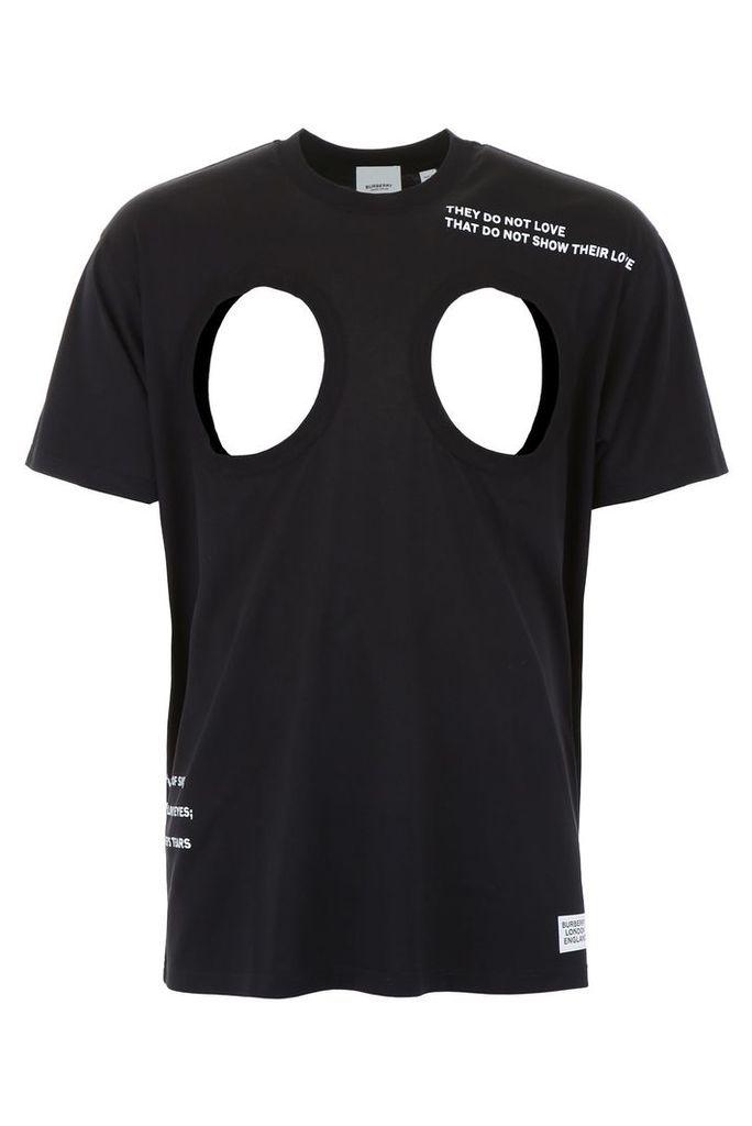 Burberry Cut-out T-shirt