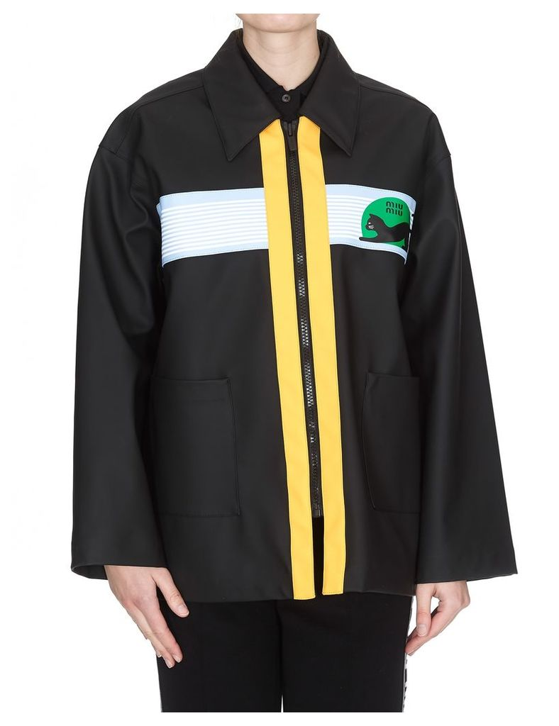 Miu Miu Rain Coat