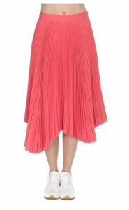 We11 Done Asymmetrical Pleated Skirt