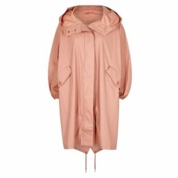 Calvin Klein Peach Coated Cotton Parka