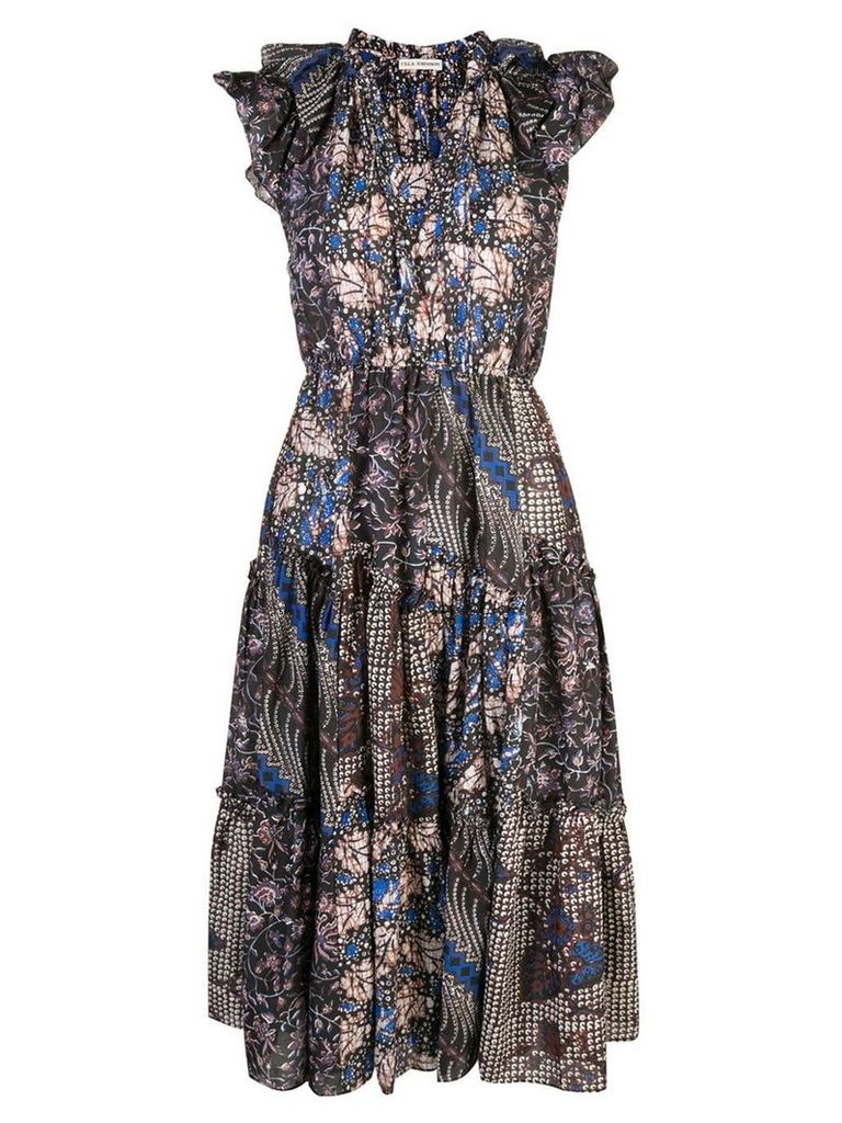 Ulla Johnson flared floral dress - Multicolour
