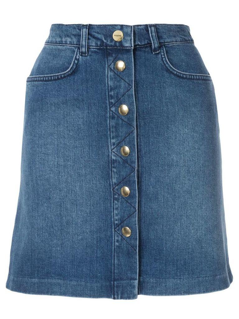 FRAME Claire denim skirt - Blue