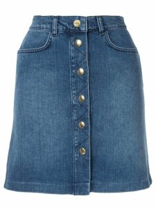 FRAME Claire denim skirt - Blue