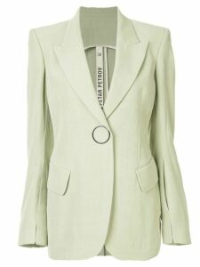 Petar Petrov Joe single-breasted blazer - Green