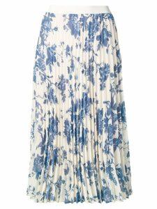 Semicouture floral print skirt - Neutrals