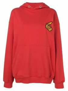 Vivienne Westwood Anglomania embroidered logo hoodie