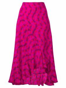 Kenzo Wave Polka skirt - Pink