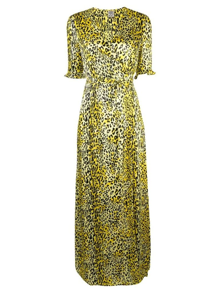 Baum Und Pferdgarten Adelita wrap dress - Yellow