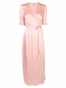 Baum Und Pferdgarten Adelita wrap dress - Pink