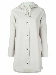 Stutterheim hooded coat - NEUTRALS