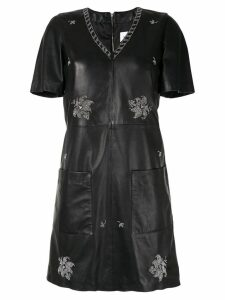 Dondup studded shift dress - Black