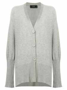 Maison Flaneur relaxed-fit cardigan - Grey