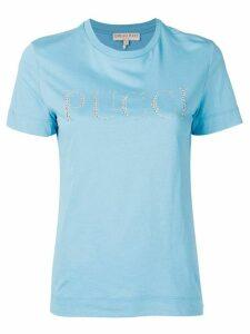 Emilio Pucci logo embellished T-shirt - Blue