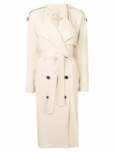 Vanessa Bruno double-breasted trench coat - Neutrals