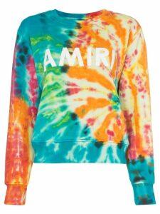 Amiri Logo print sweater - Green