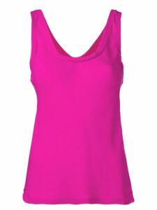 Theory scoop neck vest - Pink