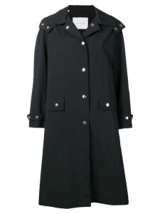 Mackintosh hooded rain coat - Black