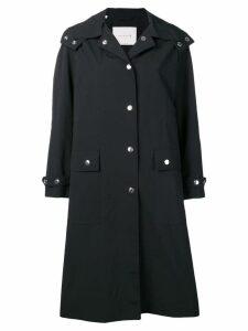 Mackintosh hooded rain coat - Black