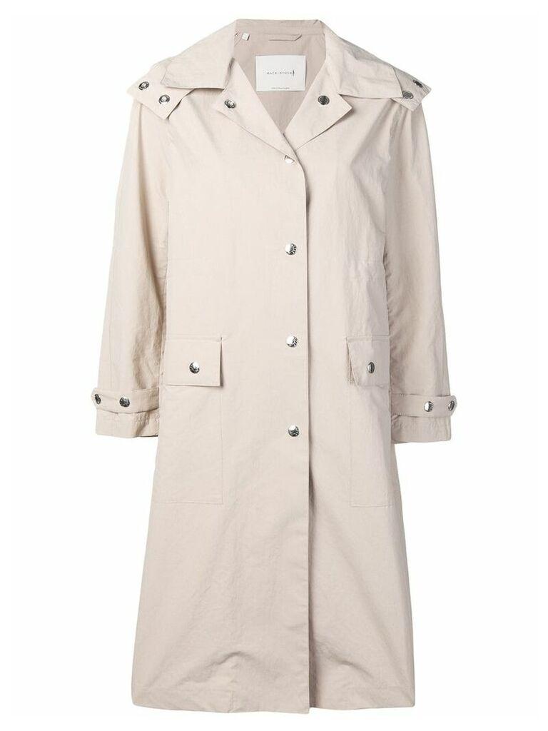 Mackintosh hooded rain coat - Neutrals