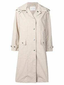 Mackintosh hooded rain coat - NEUTRALS