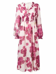 Giambattista Valli floral midi dress - Pink