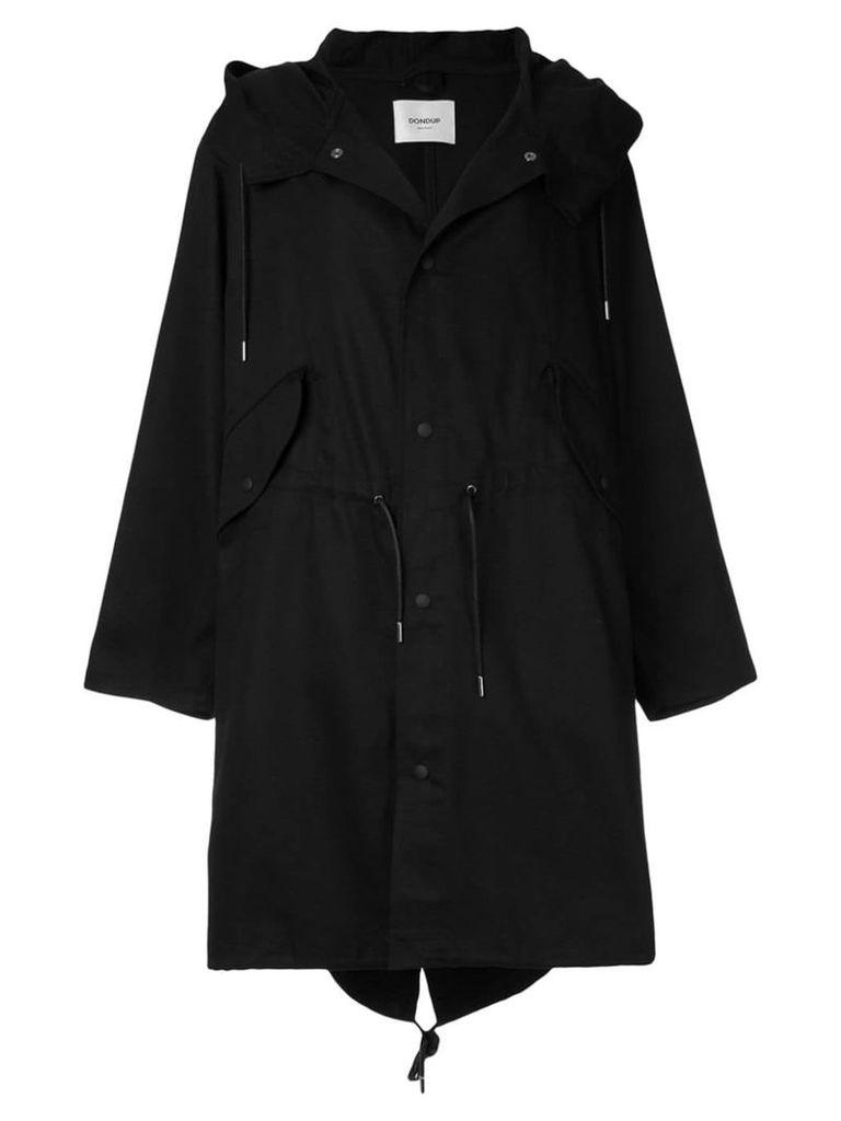 Dondup hooded parka - Black
