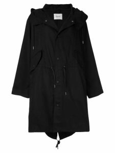 Dondup hooded parka - Black