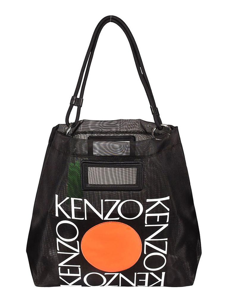 Kenzo Square Logo Tote
